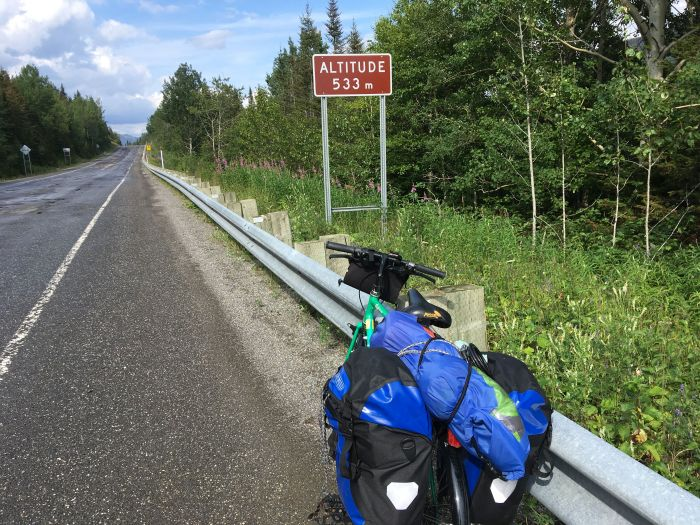 gaspe bike tour