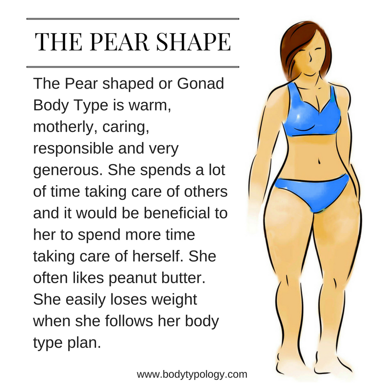 pear body type