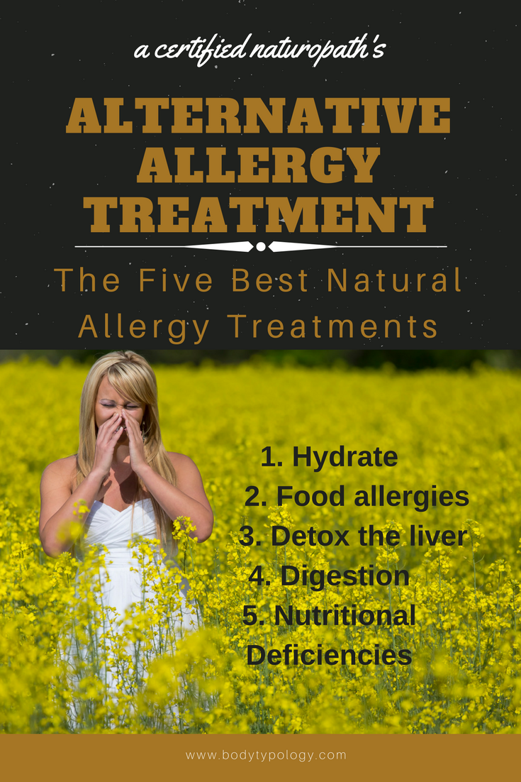 alternative allergy treatment