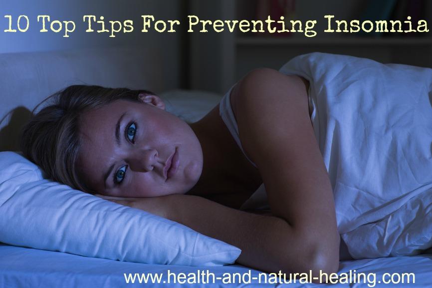 preventing insomnia
