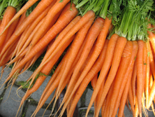pic of carrots to help you figure out your best weight loss foods