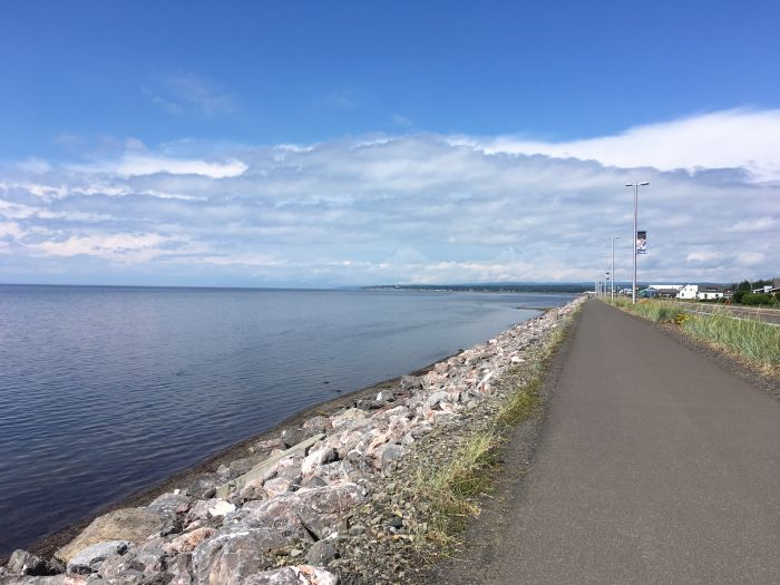 Gaspe bicycle tour
