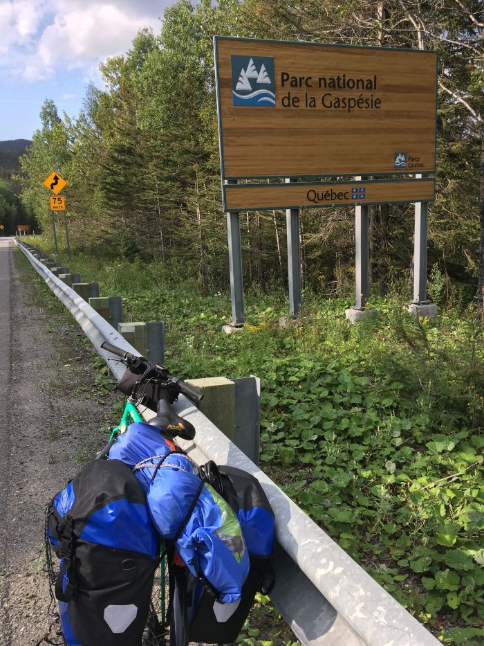 gaspe bike tour