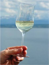 a picture showing a glass of wine so you know that a liver cleanse recipe can help people who drink too much alcohol